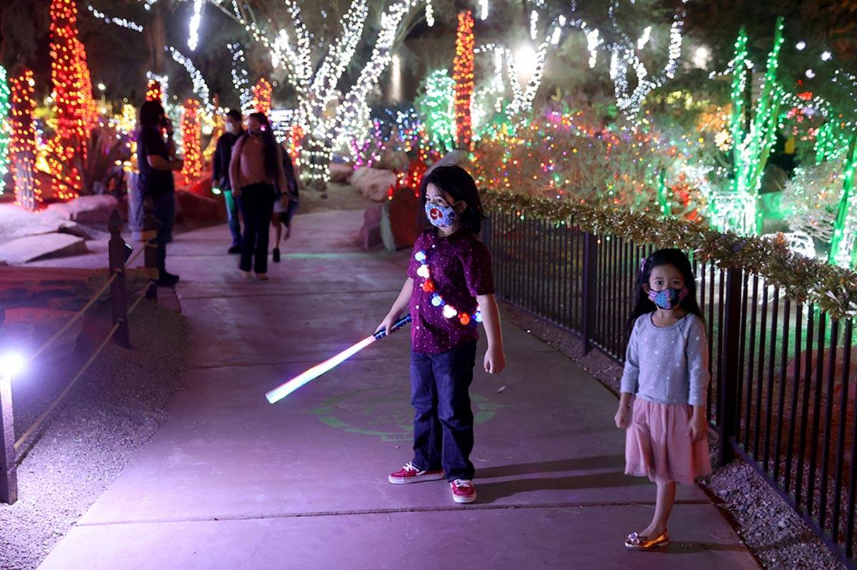 Ethel M Christmas Lights 2021 Ethel M Cactus Garden Lights Reservations Full Las Vegas Review Journal