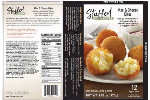A Massachusetts company is recalling more than 1,800 pounds of snack products because of mislab ...