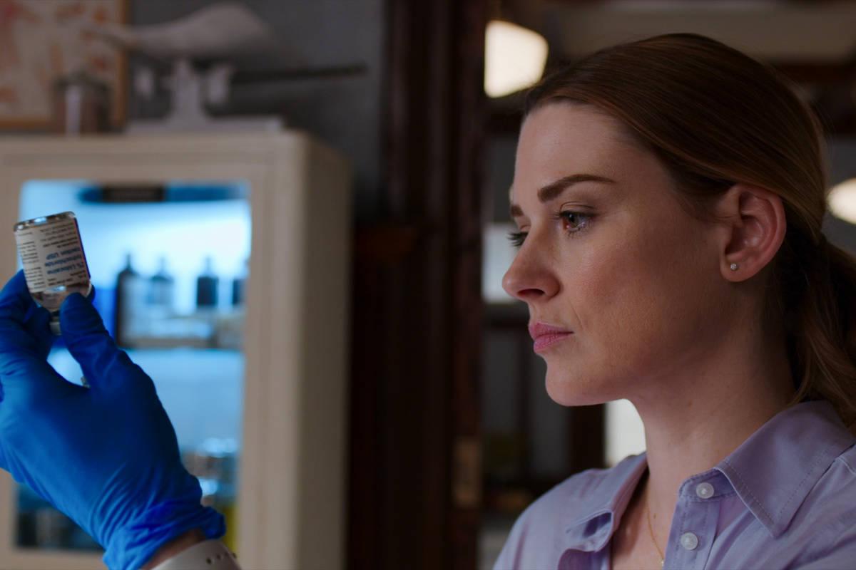 "Alexandra Breckenridge as Melinda Monroe of ""Virgin River."" (Netflix)"