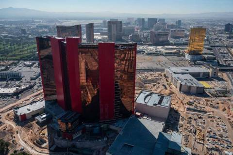 Resorts World Las Vegas is shown on Friday, Oct. 23, 2020. (Tom Donoghue)