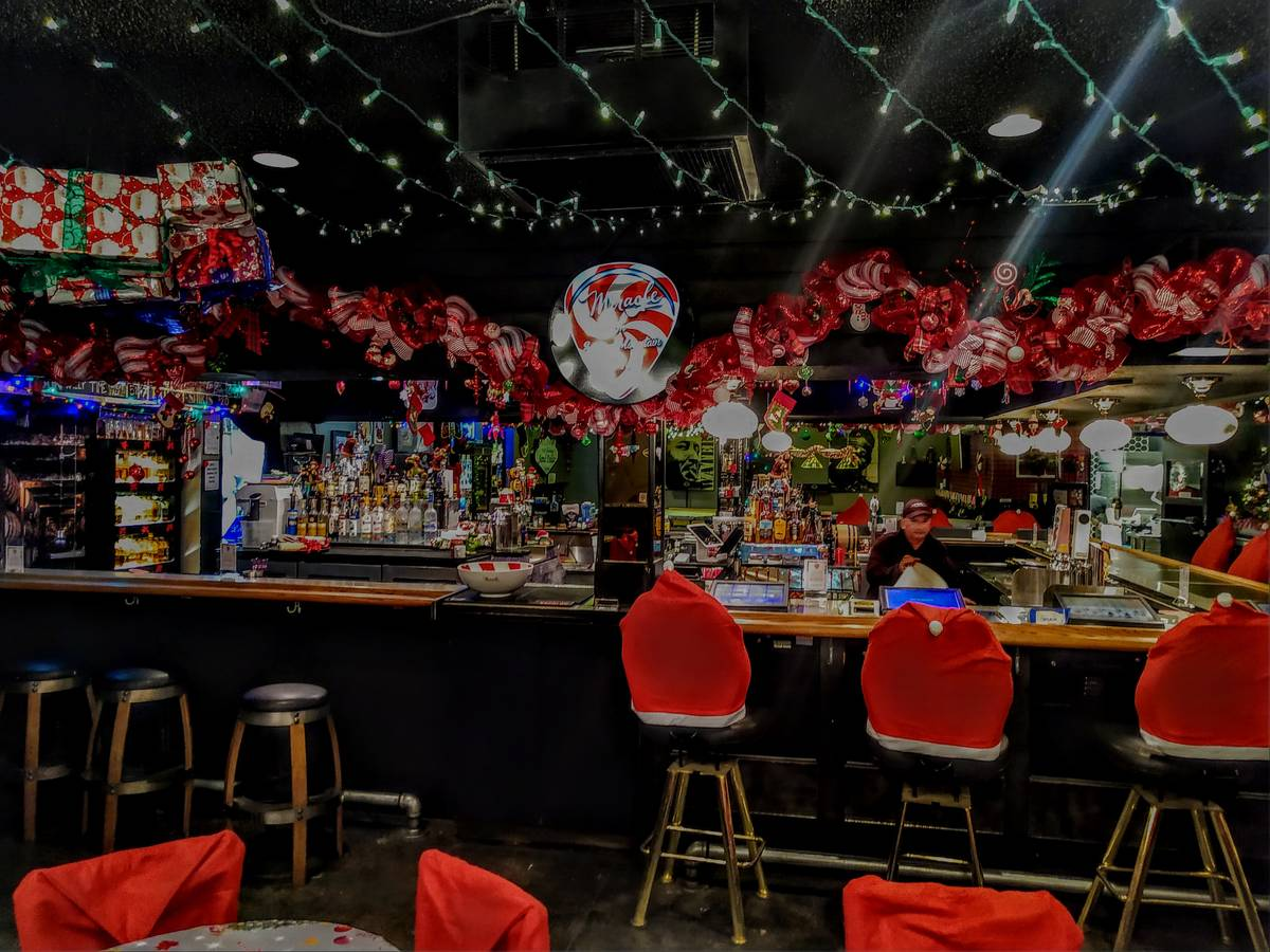 For the second year in a row, The Sand Dollar Lounge will magically transform into a unique Win ...