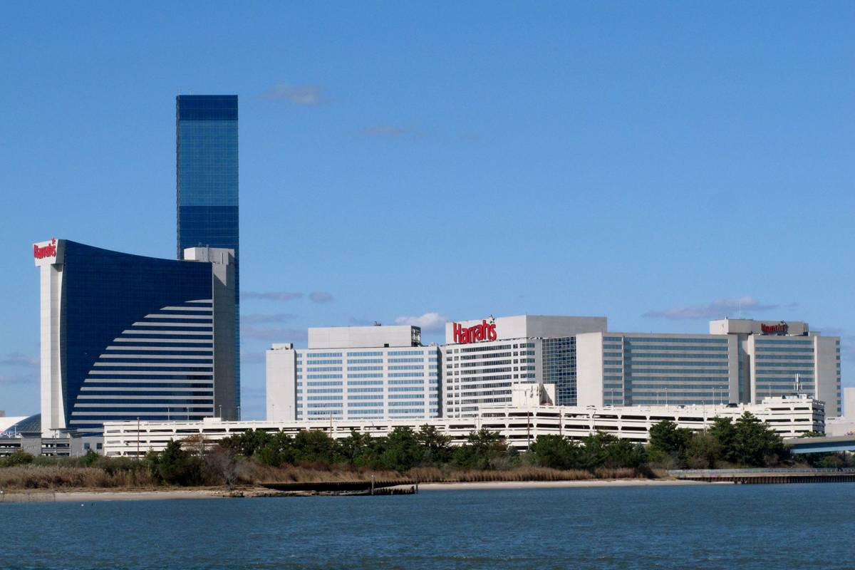 FILE - This Oct. 15, 2015, file photo shows the exterior of Harrah's Resort Atlantic City in At ...