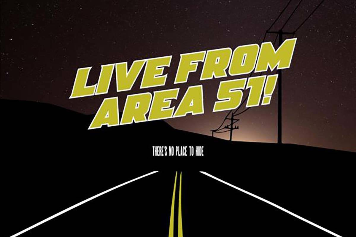 """""""Theater on the Air: Live from Area 51: will be broadcast live on KNPR on Wedensday. (KNPR)"""