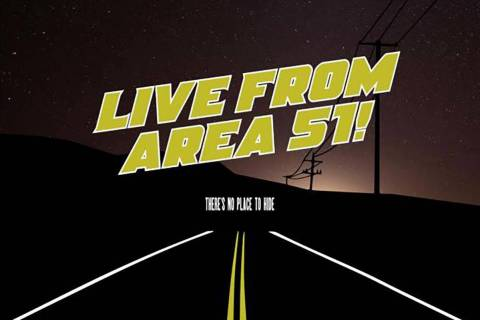 """Theater on the Air: Live from Area 51: will be broadcast live on KNPR on Wedensday. (KNPR)"