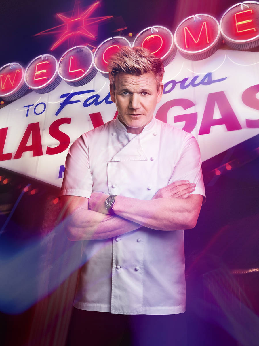 Host/chef Gordon Ramsay in the season premiere of Hell's Kitchen airing Thursday, Jan 7, 2021 ...