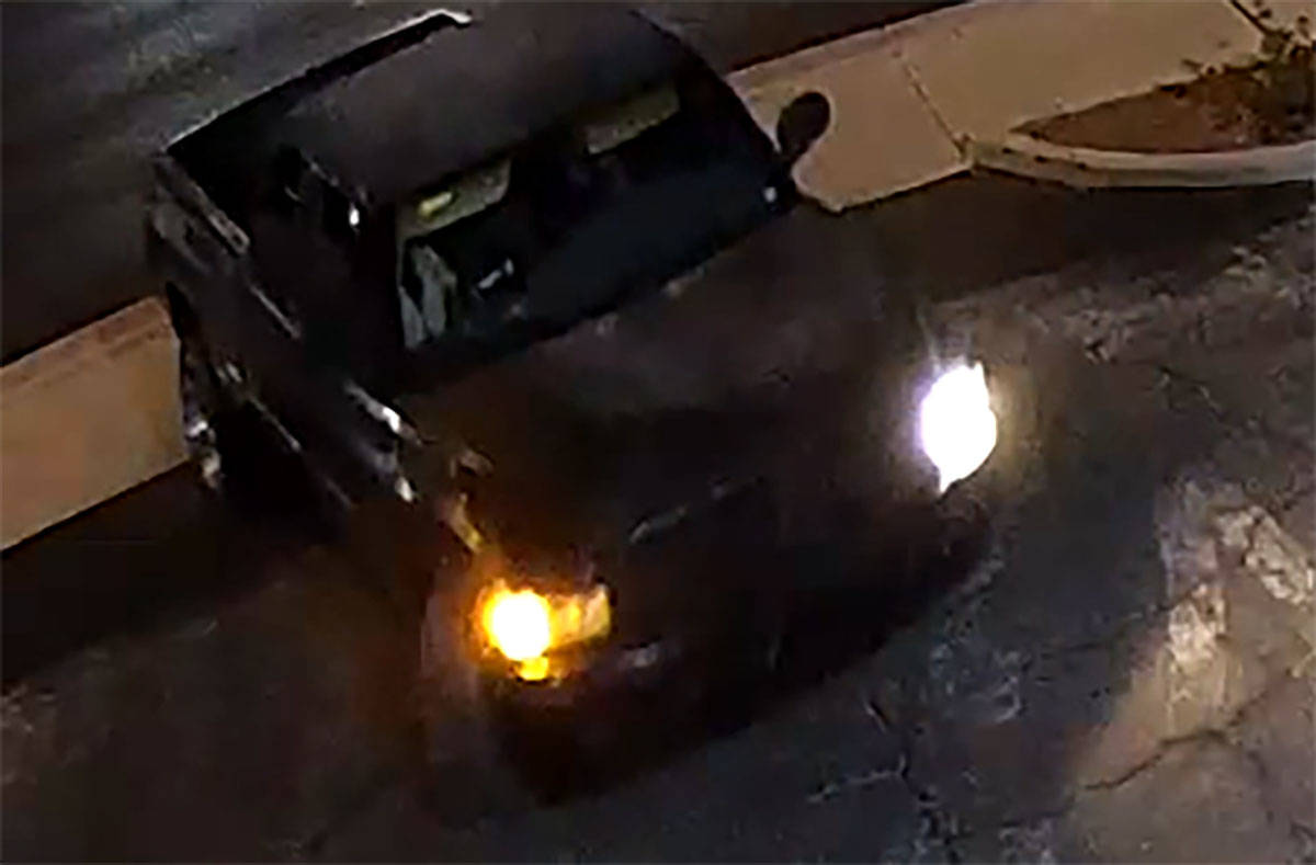 Las Vegas police are asking for help to find a second generation Dodge Ram extended cab pickup ...