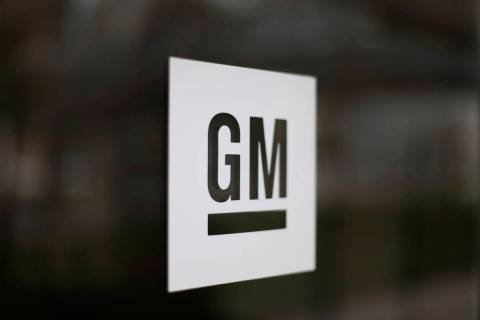 A Friday, May 16, 2014, file photo, shows the General Motors logo at the company's world headqu ...
