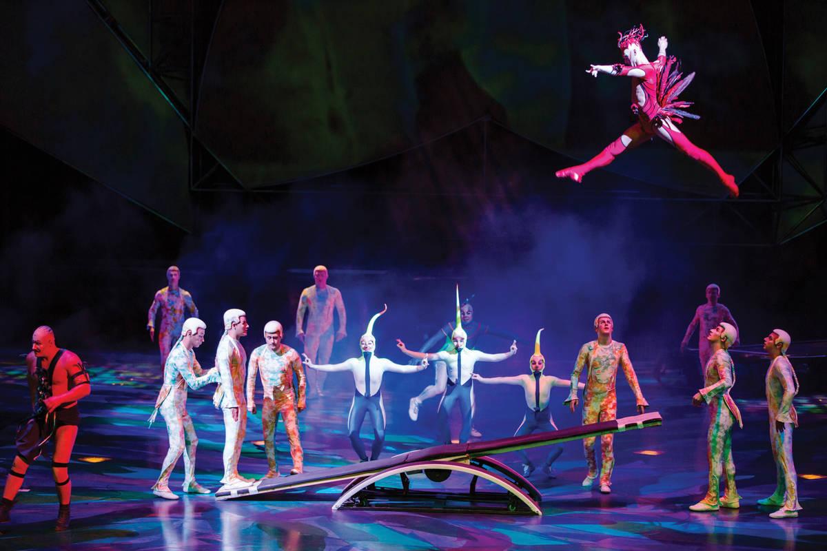 Mystere (Matt Beard/Cirque du Soleil)