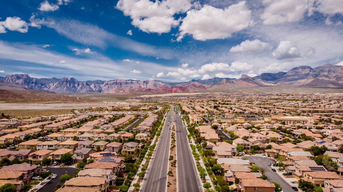 The master-planned community of Summerlin, which began in 1990, has landed on the nation's li ...