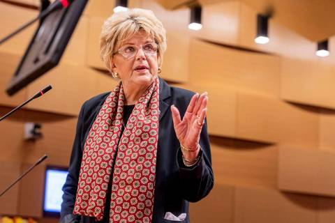 Las Vegas Mayor Carolyn Goodman. (Elizabeth Page Brumley/Las Vegas Review-Journal)