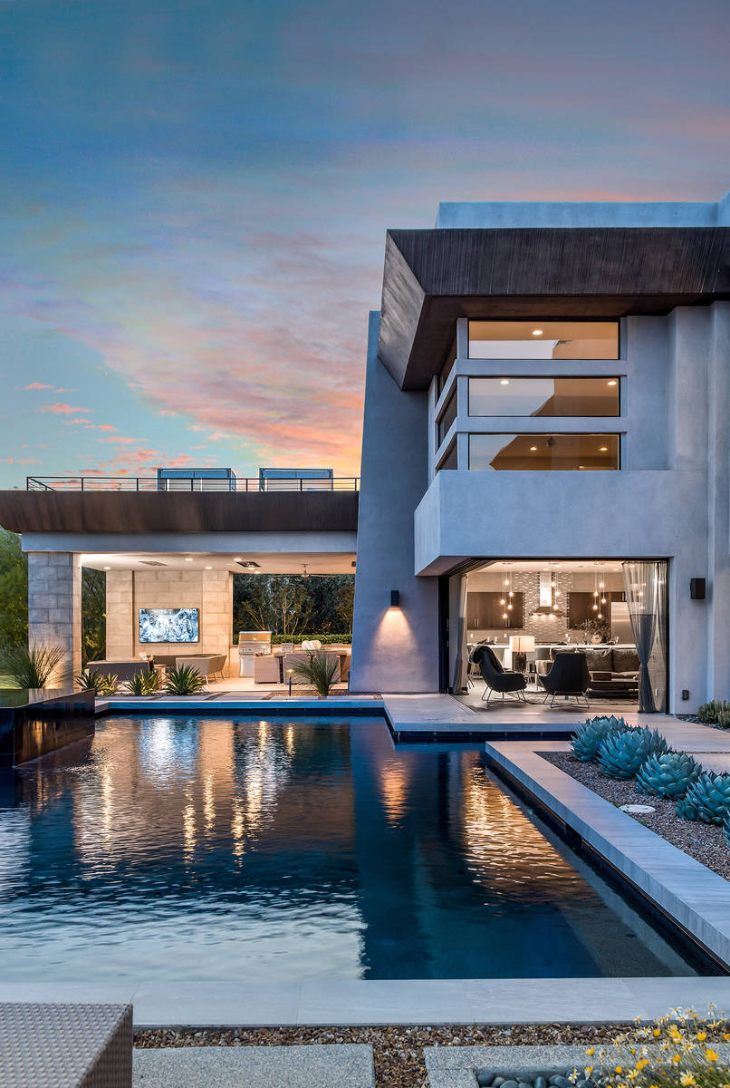 The two-story home. (Simply Vegas)