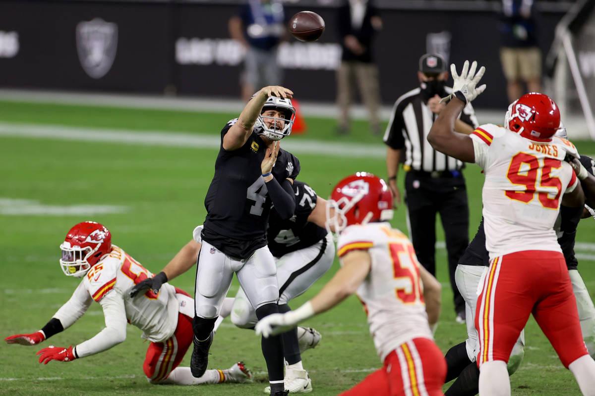 Derek Carr says 2020 Raiders better than 2019 version | Las Vegas  Review-Journal