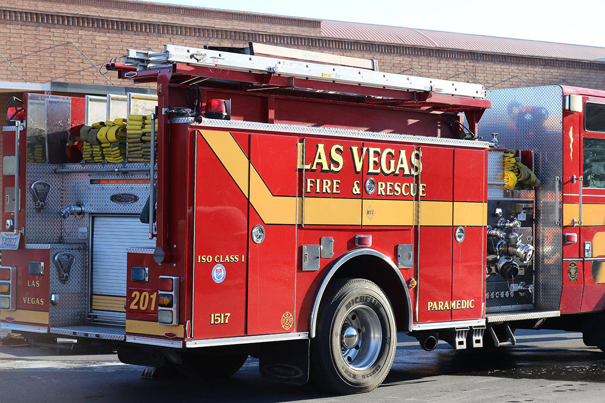 Las Vegas Fire Department (Las Vegas Review-Journal)