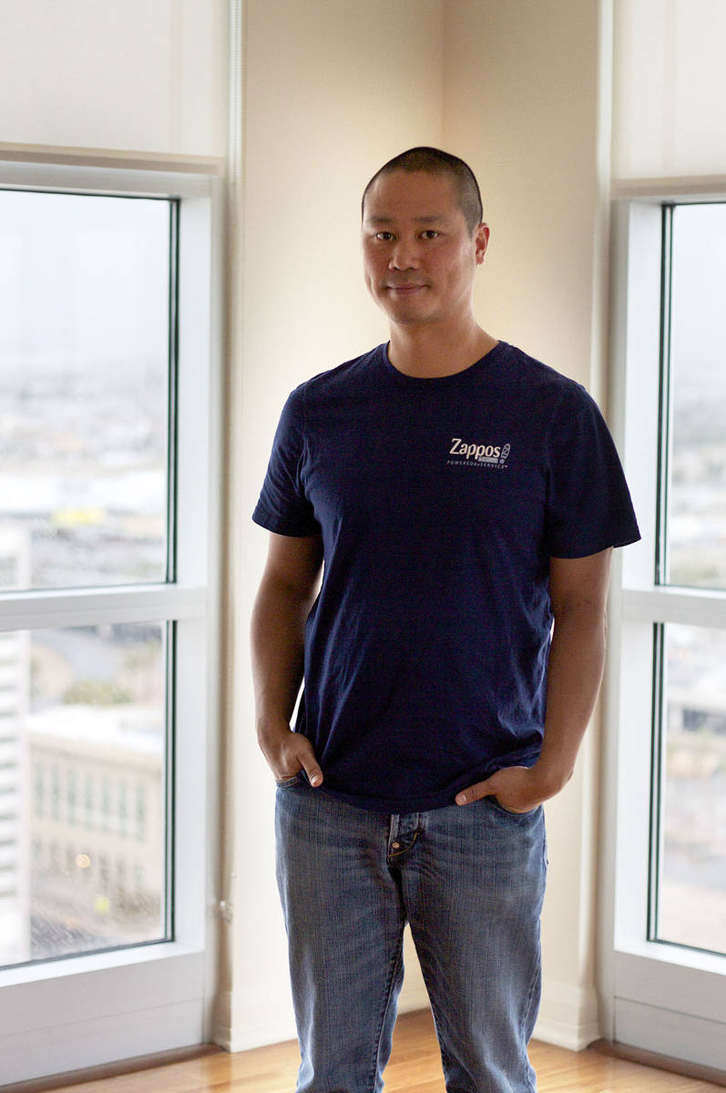 Tony Hsieh (Review-Journal File)