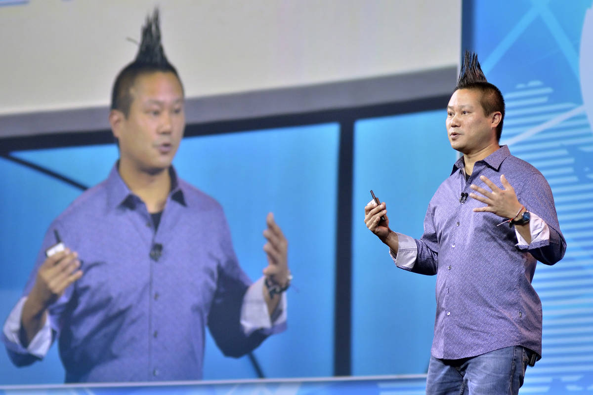 Zappos CEO Tony Hsieh speaks at the Travel Leaders Network 2018 EDGE International Conference a ...