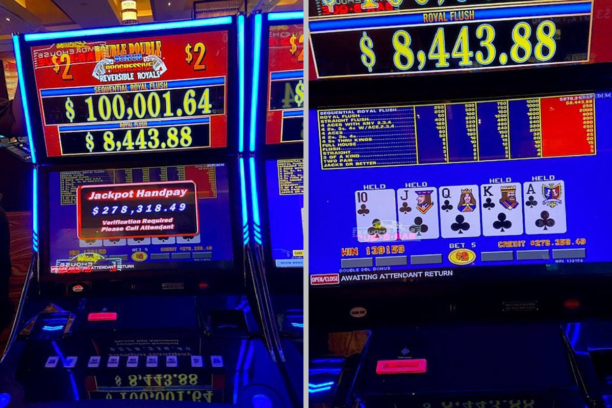 Local Hits 278k Jackpot At Off Strip Casino Las Vegas Review Journal