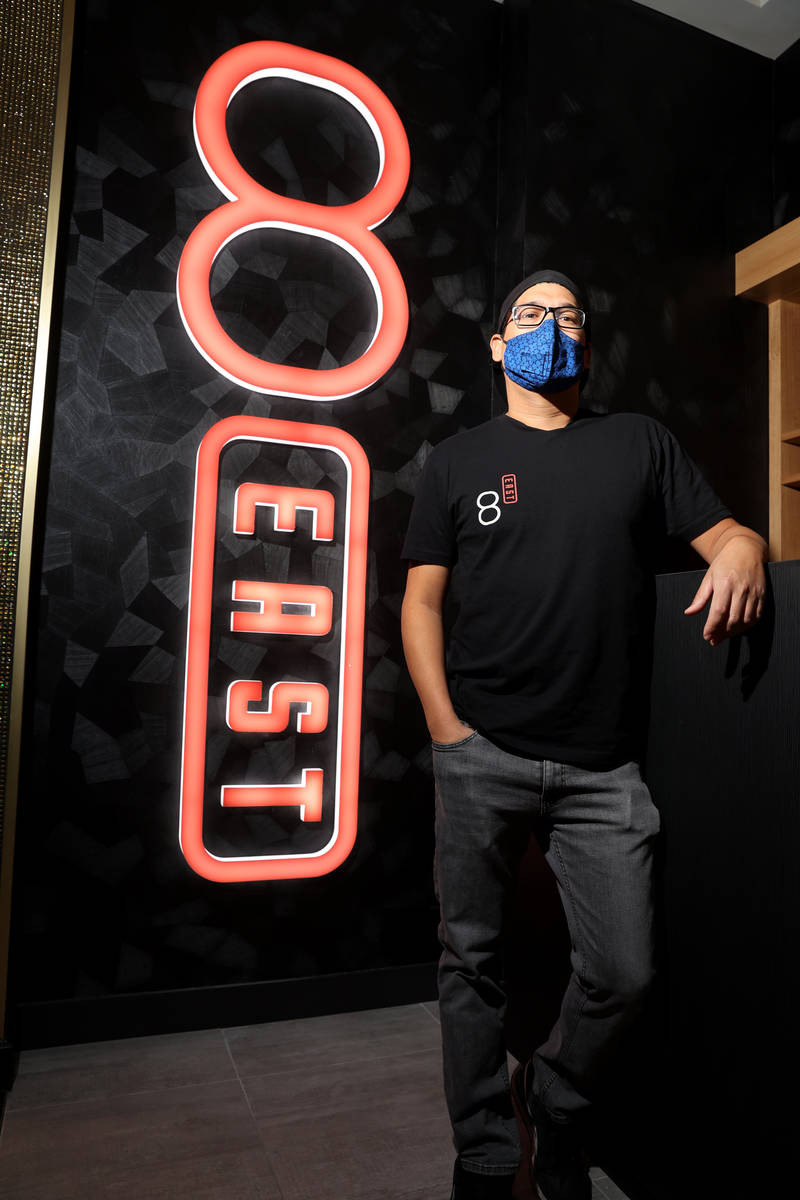 8 East's chef and owner, Dan Coughlin, says Tony Hsieh's early support of his restaurant was cr ...