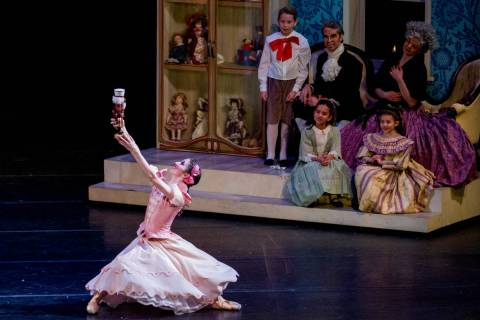 "Nevada Ballet Theatre's ""The Nutcracker"" will be coming to television as part of a three-episod ..."