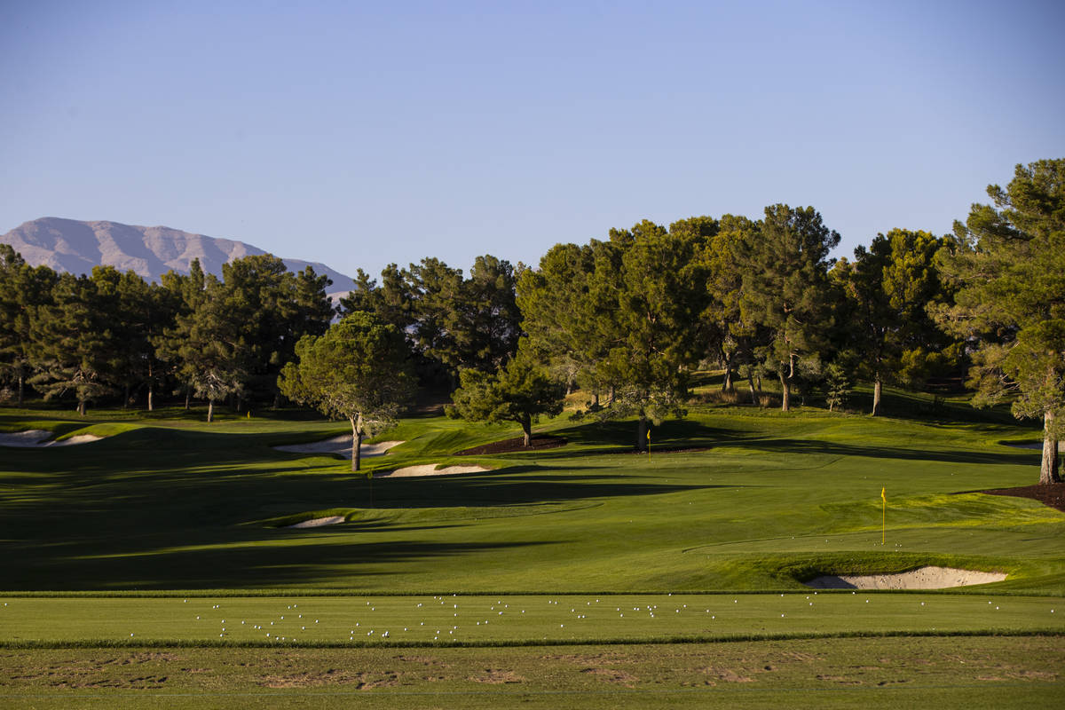 Shadow Creek Golf Course in North Las Vegas (Chase Stevens/Las Vegas Review-Journal) @csstevens ...