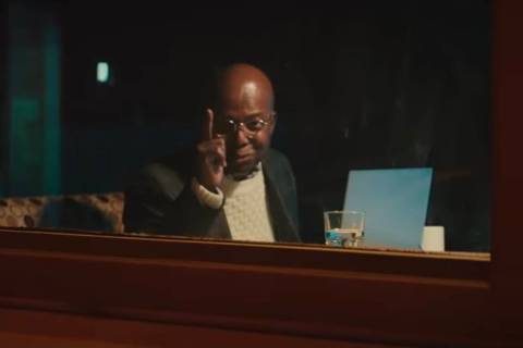 "A screen grab of Clarence Gilyard as Theo is shown in the new ""Die Hard"" commercial for Advance ..."