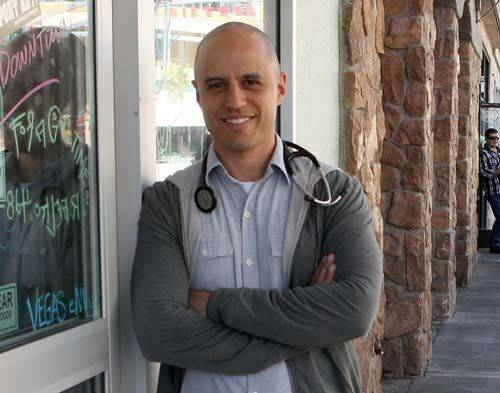 Zubin Damania, also known by his musical alter ego ZDoggMD, moved to Vegas to open his own clin ...