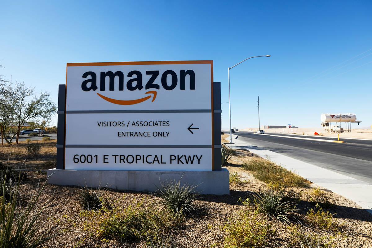 The Amazon LAS7 Fulfillment Center in North Las Vegas, Wednesday, Dec. 2, 2020. Amazon plans to ...