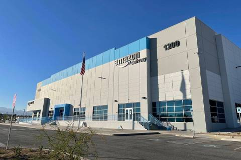 Amazon fulfillment center in North Las Vegas (Amazon)