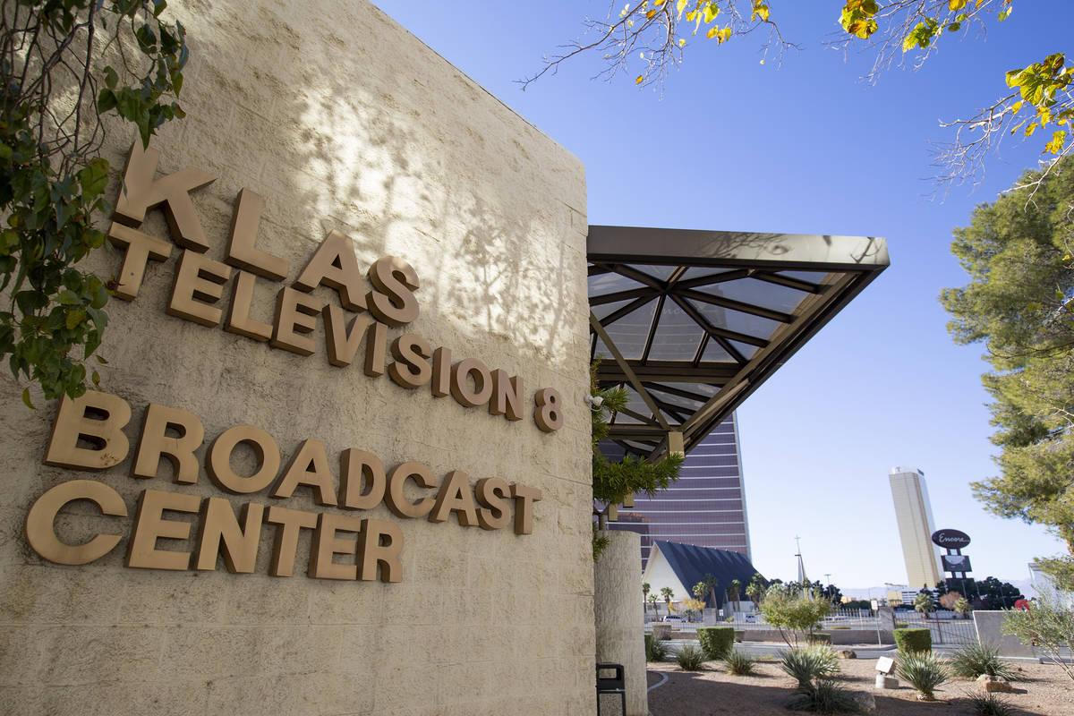 The KLAS-TV, Channel 8, building is seen on Wednesday, Dec. 2, 2020, in Las Vegas. Nexstar Medi ...