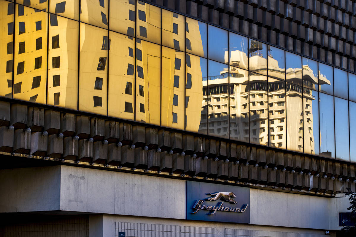 The Plaza Hotel and Casino will redevelop a building that houses the Greyhound bus terminal dow ...