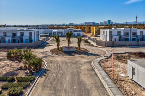 Showboat Park Apartments opens in downtown Las Vegas. (Showboat Park Apartments)