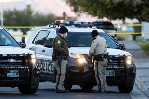 The Metropolitan Police Department investigates a homicide in the 3600 block of Villa Knolls Ea ...