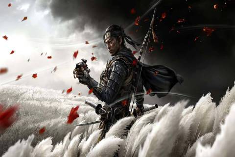Ghost of Tsushima received seven Game Awards nominations. (PlayStation)