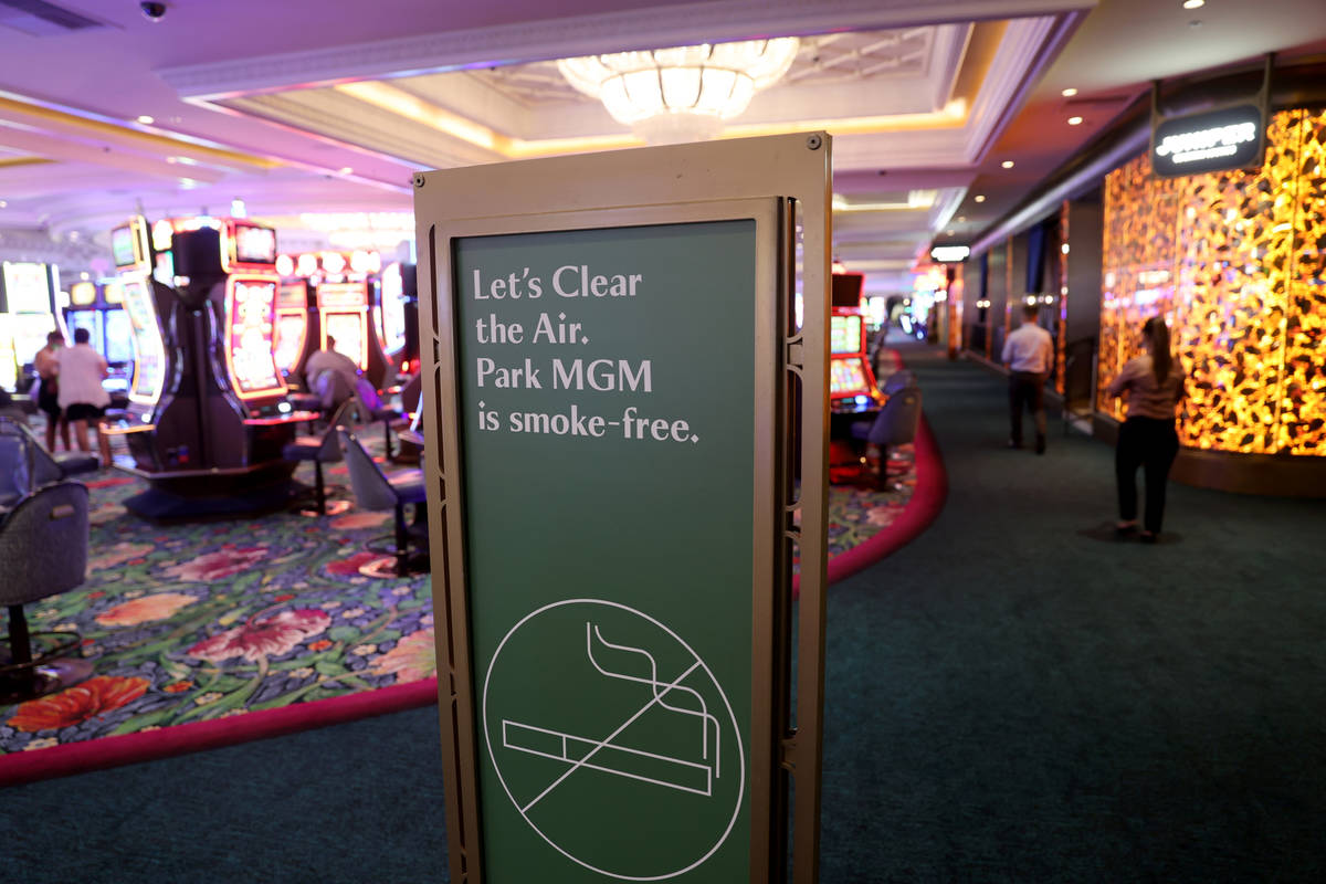 Smoke Free Las Vegas Casino