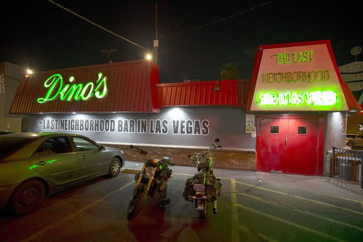 Dino's Lounge in downtown Las Vegas. (Las Vegas Review-Journal, File)