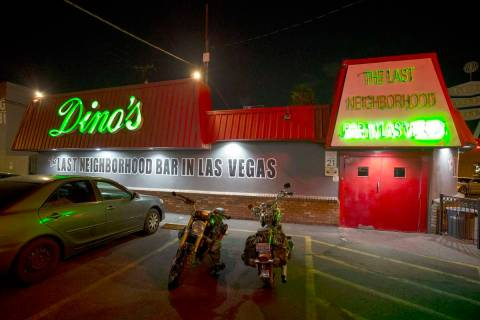 Dino's Lounge in downtown Las Vegas. (Las Vegas Review-Journal, File)