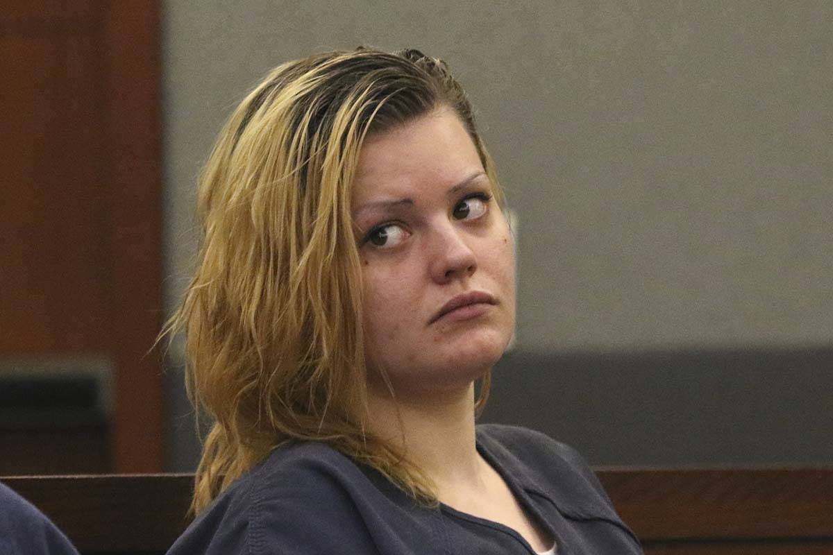 """Krystal Whipple, who is charged in the death of nail salon manager Nhu """"Annie"""" Ngoc Nguyen, ..."""