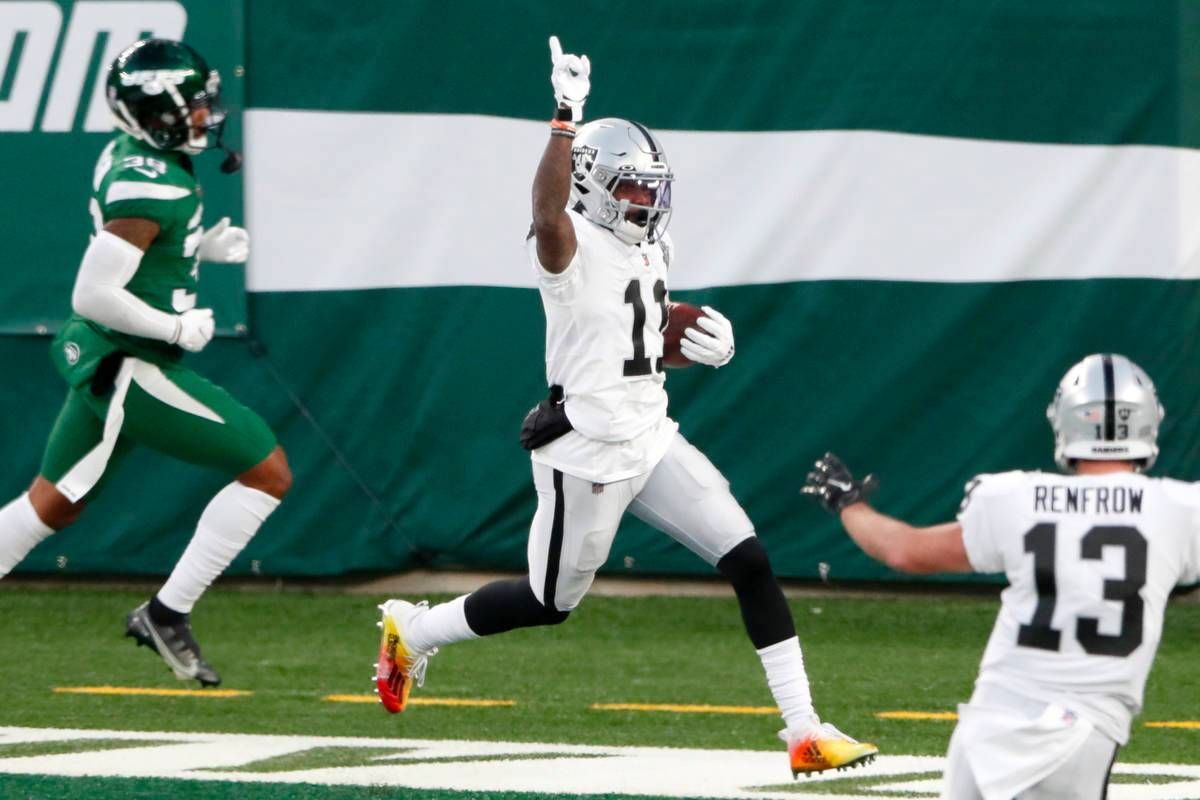 Henry Ruggs makes game-winning catch as Raiders top Jets 31-28 | Las Vegas  Review-Journal