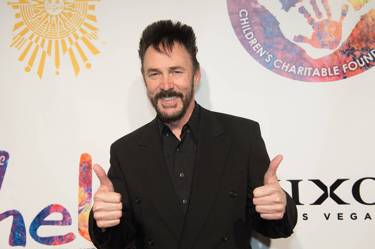 Lance Burton attends Heal Every Life Possible on Monday, Sept. 12, 2016, at The Luxor. (Tom Don ...