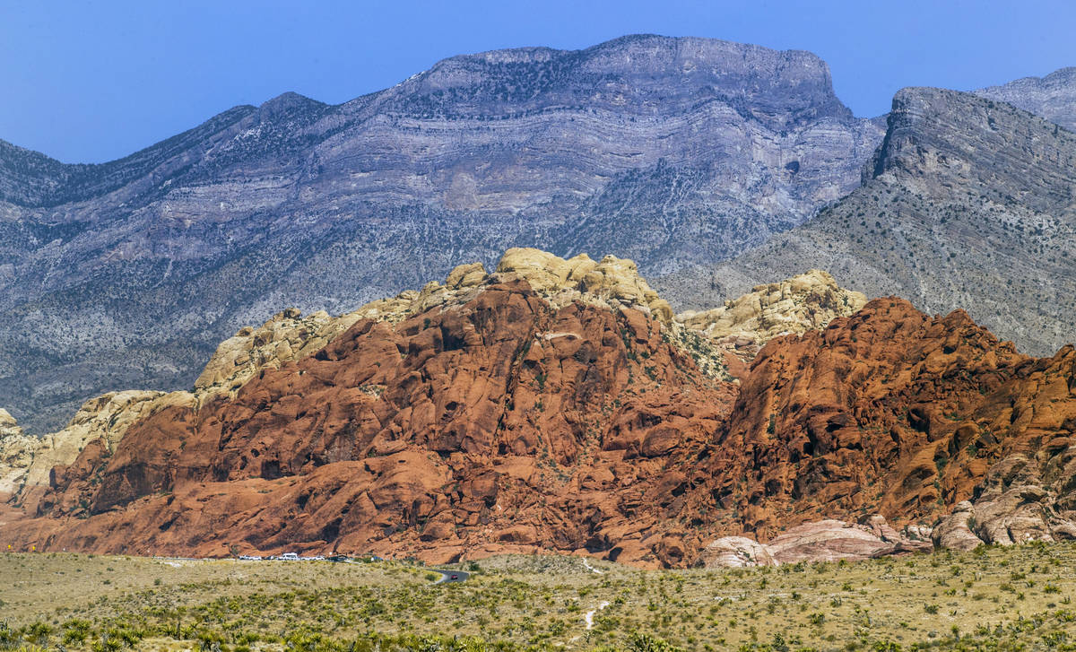 The Red Rock Canyon National Recreation Area near Las Vegas has a timed entry reservation syste ...