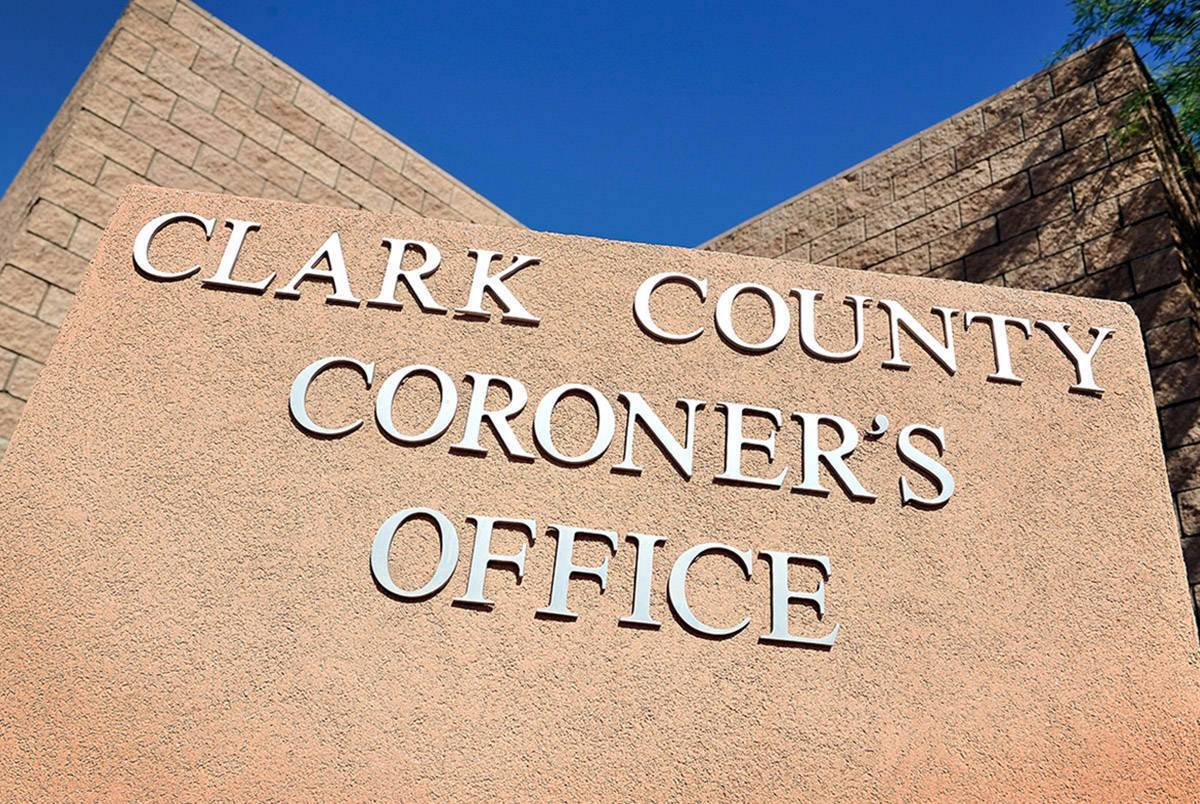Clark County Coroner's Office (Las Vegas Review Journal)