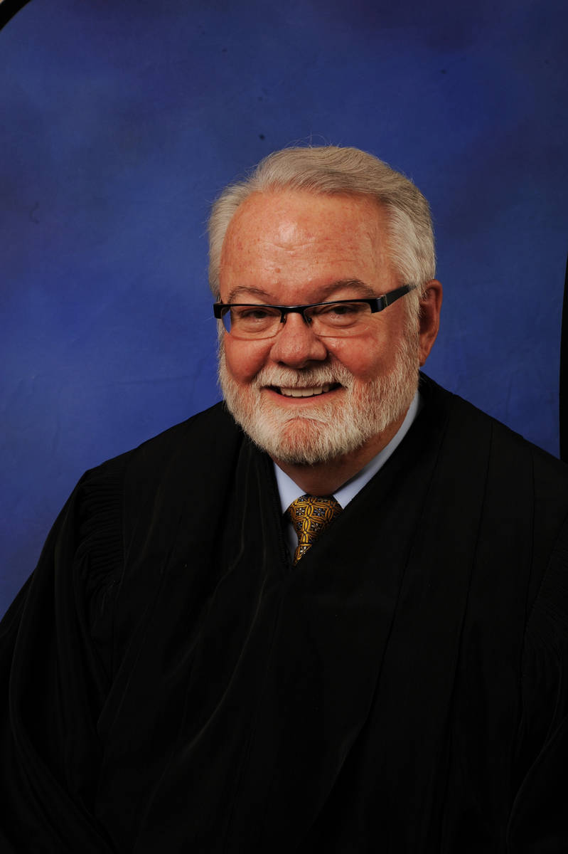 Clark County District Court Judge Jim Crockett.