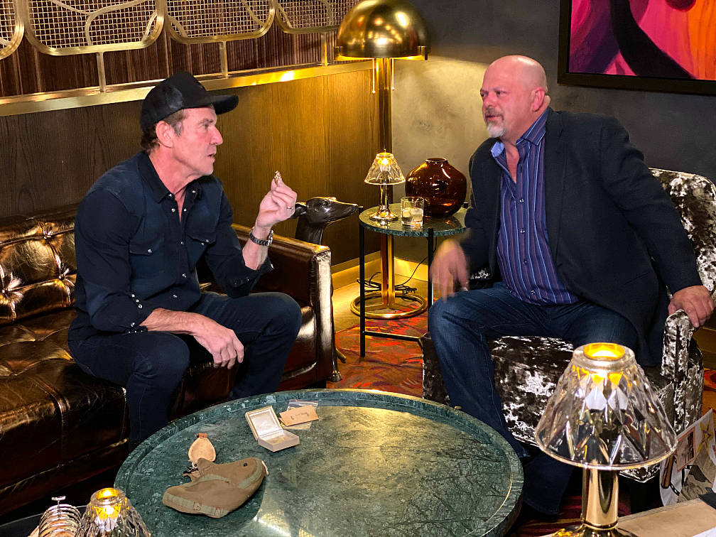 Film and TV actor Randy Quaid is shown at Barry's Downtown Prime at Circa on Wednesday, Dec. 2, ...