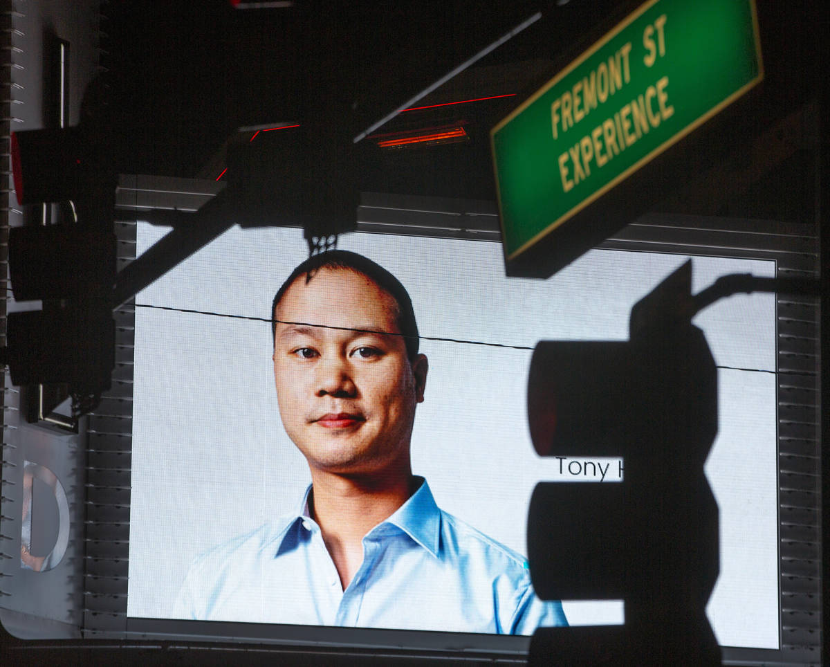 Tributes to former Zappos CEO and Downtown Project founder Tony Hsieh, who died Nov. 27, 2020 a ...