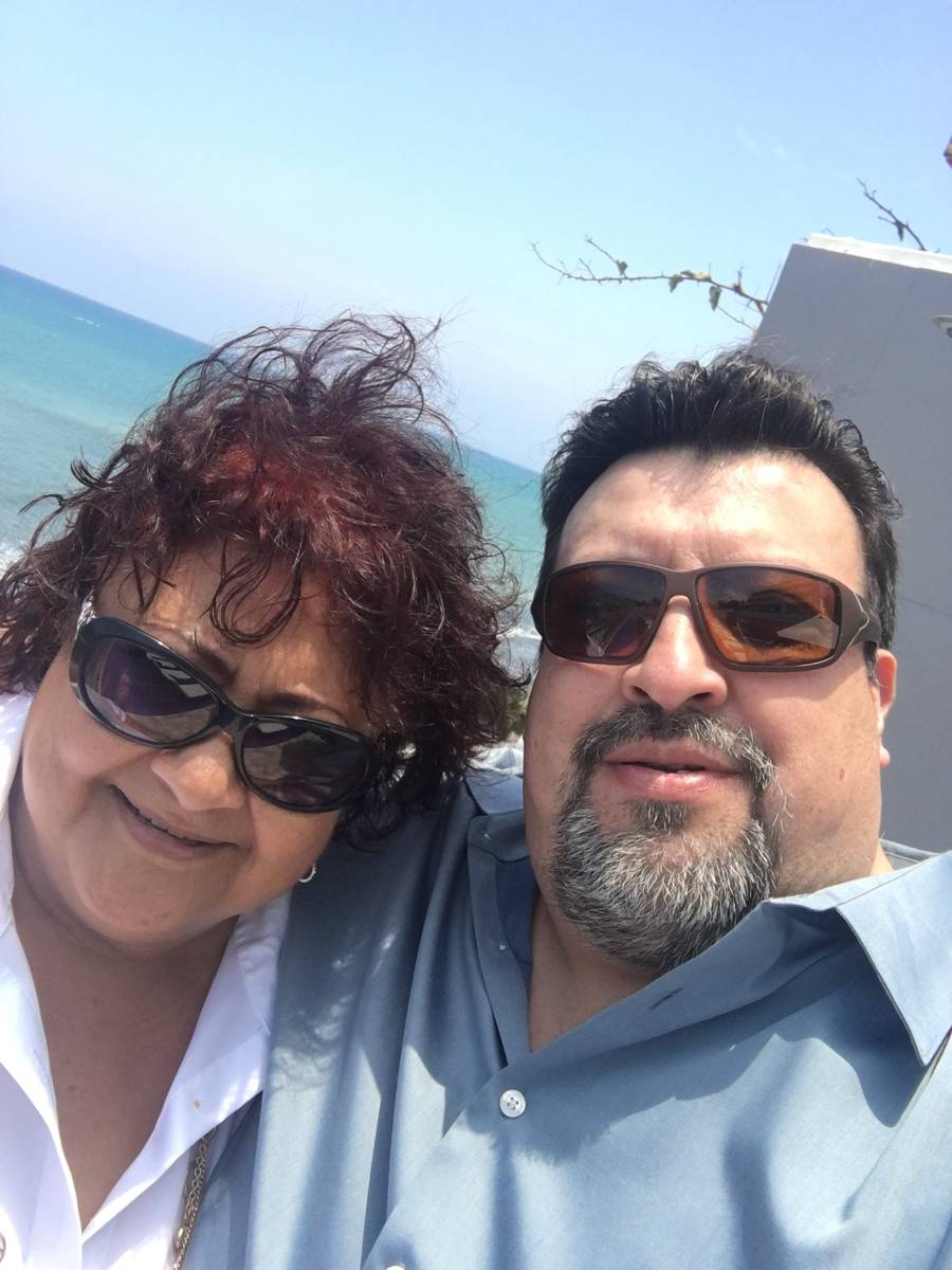 Lydia and Freddy Espinosa. (Courtesy Lydia Espinosa)