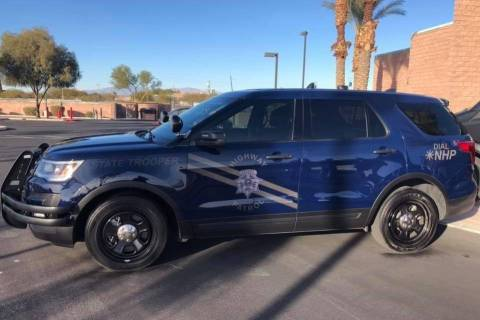 """The Nevada Highway Patrol uses """"ghost"""" vehicles with more subtle decals to seek out intoxicated ..."""