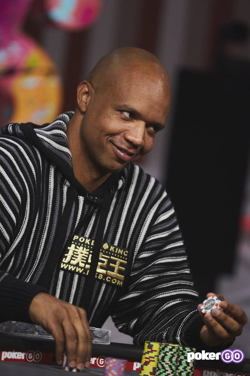 """Phil Ivey will play on upcoming episodes of """"High Stakes Poker"""" on PokerGO. (PokerGO)"""