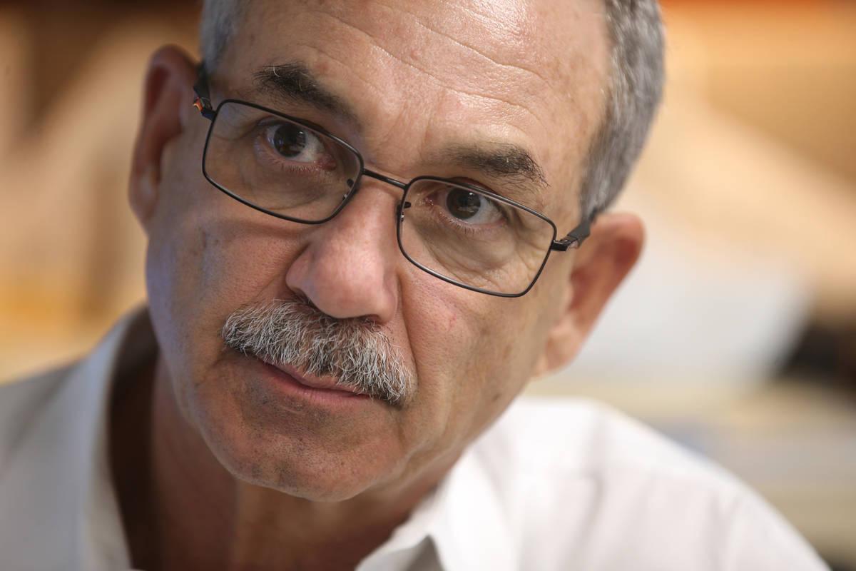 John Vellardita, executive director of the Clark County Education Association. (K.M. Cannon/Las ...