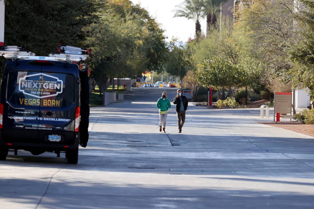 UNLV in Las Vegas Tuesday, Dec. 8, 2020. (K.M. Cannon/Las Vegas Review-Journal) @KMCannonPhoto