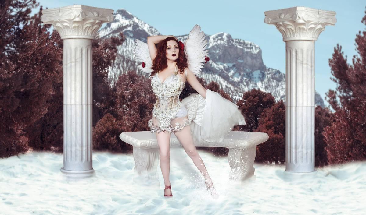 Las Vegas performer Bridget Reilly is featured in the Diva! Las Vegas 2021 calendar. (Bridget R ...
