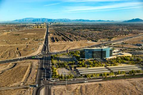 The M Resort, at St. Rose Parkway and Las Vegas Boulevard, is seen Wednesday, Oct. 16, 2019. (L ...